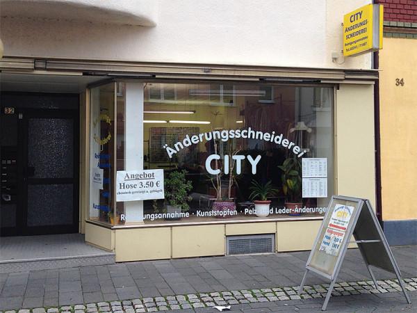 Änderungsschneiderei City